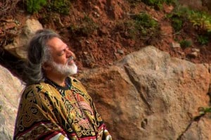 Andras Corban-Arthen in the documentary This Sacred Earth