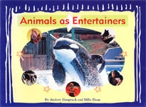 Book cover for Animals as Entertainers by Billie Dean and Andrew Einspruch