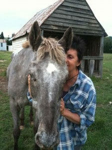 Montana with Billie, January 2011