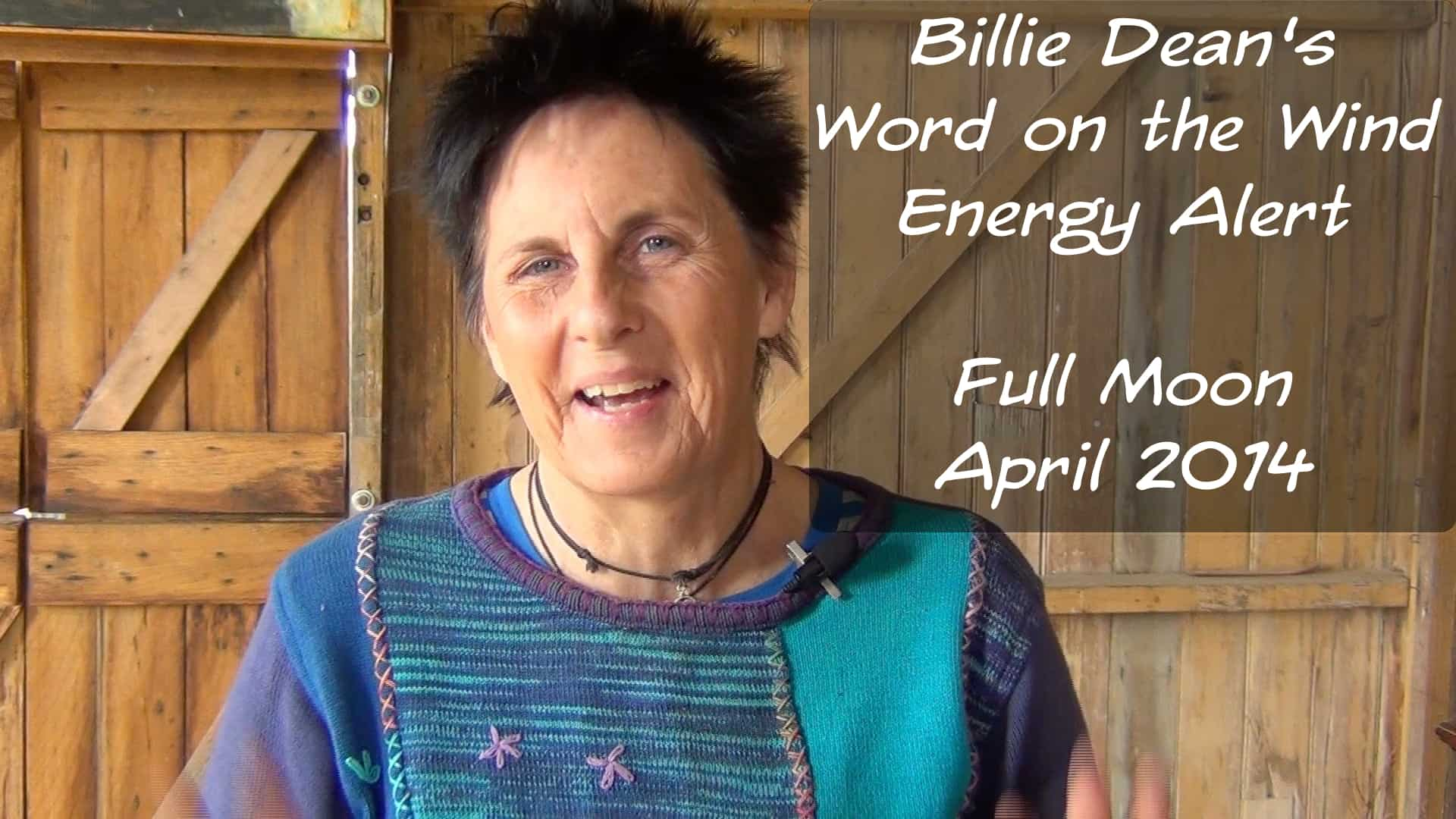 Full Moon in April – Word on the Wind Energy Alert